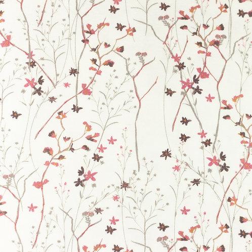 Jersey tausend Blumen altrosa 0,5m