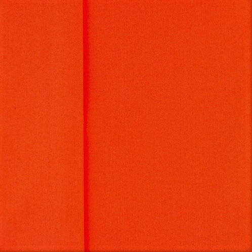 Baumwolle Popeline uni orange 0,5m
