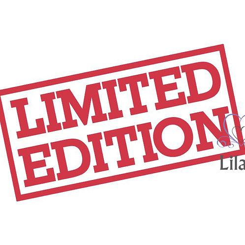 Plotterdatei Limited Edition