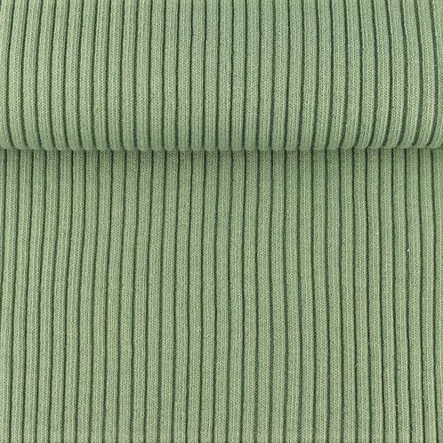 Bündchen gerippt altgrün 0,25m