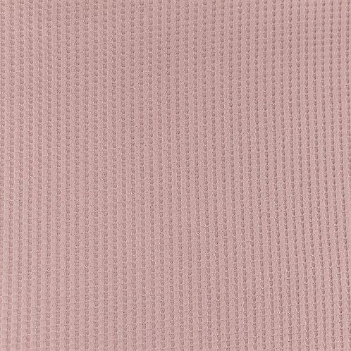 Waffeljersey uni altrosa 0,5m