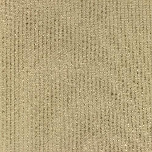 Waffeljersey uni kiesel 0,5m