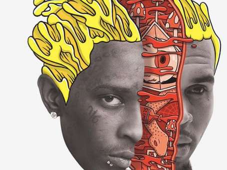 """Chris Brown and Young Thug's """"Go Crazy"""" Remix Drops Tonight"""