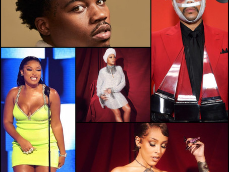 R&B and Hip-Hop Took the 2020 AMAs By Storm!