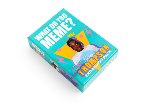 Rickey Thompson Collabs with Bestselling Adult Party Game, 'What Do You Meme?'