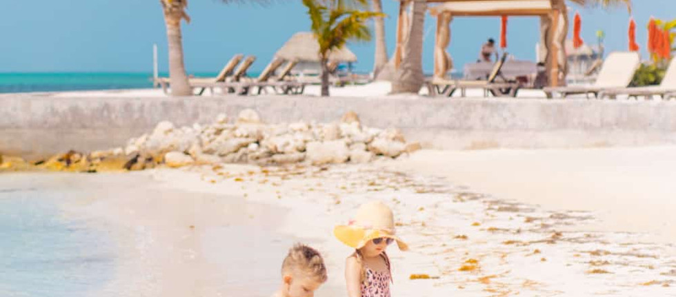 At Grand Caribe you get to enjoy over 800 feet of beach.