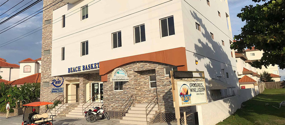 Beach Basket located at Grand Caribe in RAIN building.