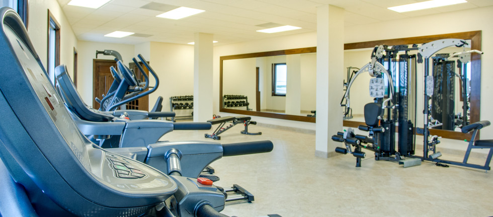 Gym located in RAIN building.