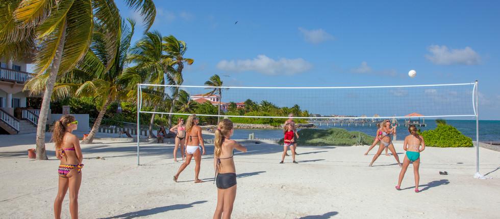 800 feet of Grand Caribe Beach fun.
