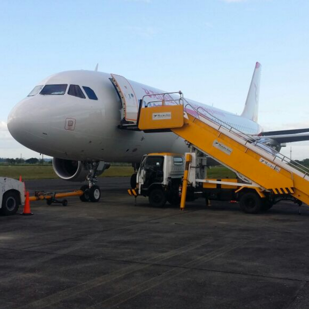 A320 ferryflight