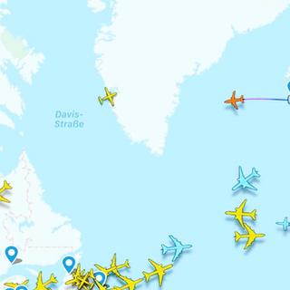 A319 Ferry across atlantic