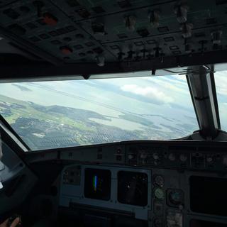 A320 demo, testflight A320
