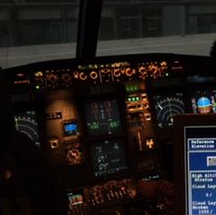 FFS A320 Instructor panel