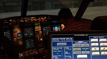 A320 Type Rating Instructor panel