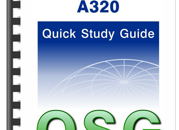 A320 Quick Study Guide | Mandatory for A320 TR