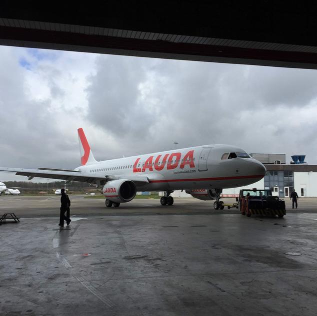 Laudamotion A320 Demo