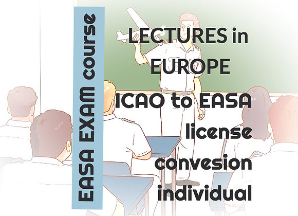 EASA Airline Pilot Program | 4 Lectures + E-Books | Lectures in EUROPE