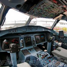 ATR Flight deck