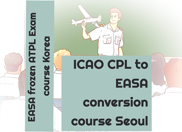 Seoul Lecture EASA Airline Pilot Program Course | Course Enrolment + Study Books