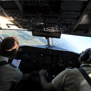 Bombardier Q400 ferryflight