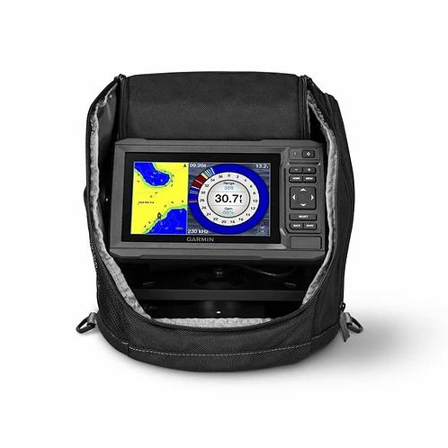 Garmin ECHOMAP Plus 63cv Ice Fishing Bundle