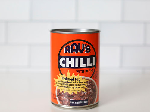 Ray's Reduced Fat Chilli with Beans