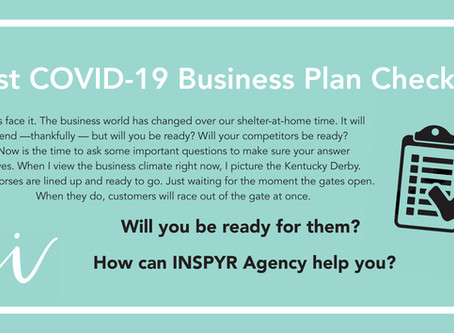 Do you have a Post COVID-19 Small Business Plan?
