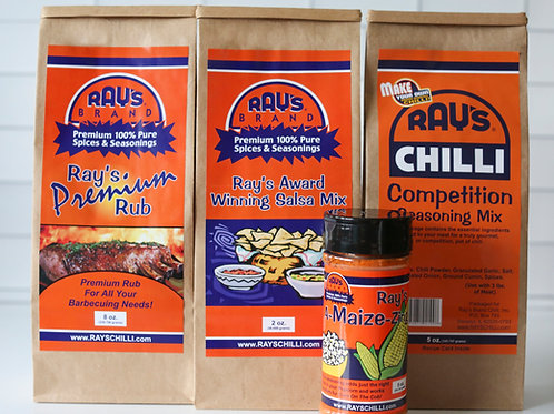 Ray's Brand Premium Seasonings Combo Pack