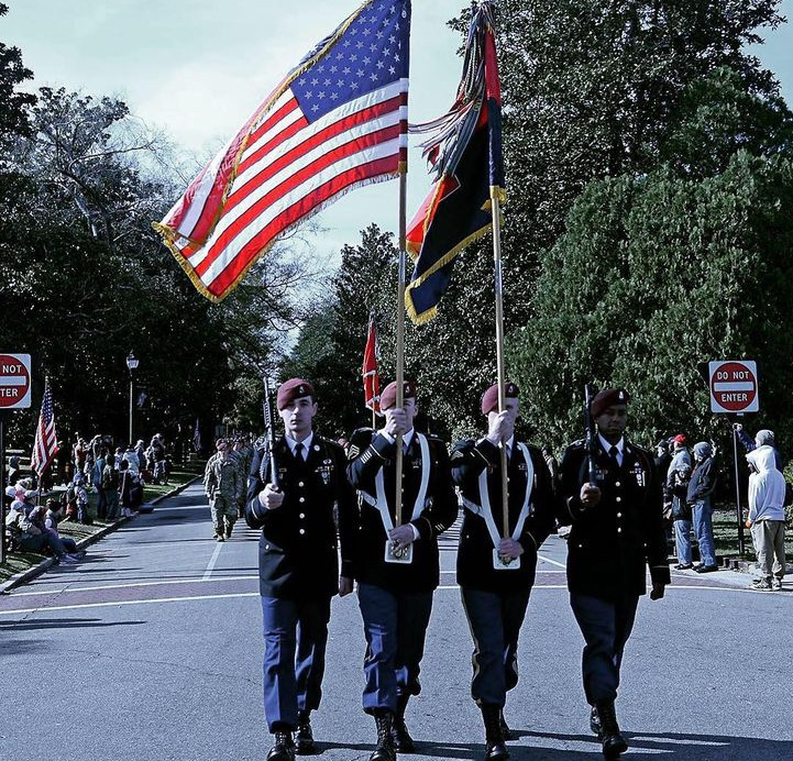 The 82d Airborne Honor Guard
