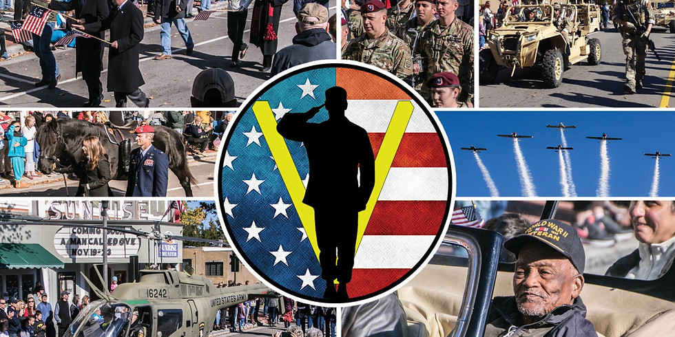 The Southern Pines Veterans Parade