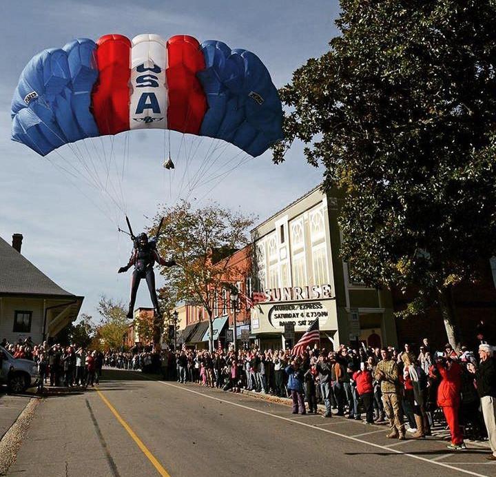 Children of Fallen Heroes Skydiving Angel, Cheryl Stearns,