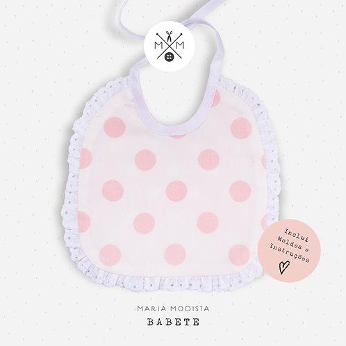 Molde de Babete Bebé