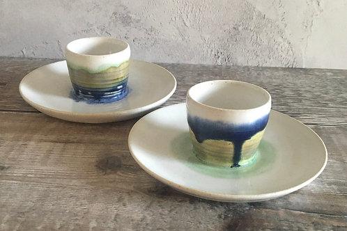 Landscape design egg cup (individual)
