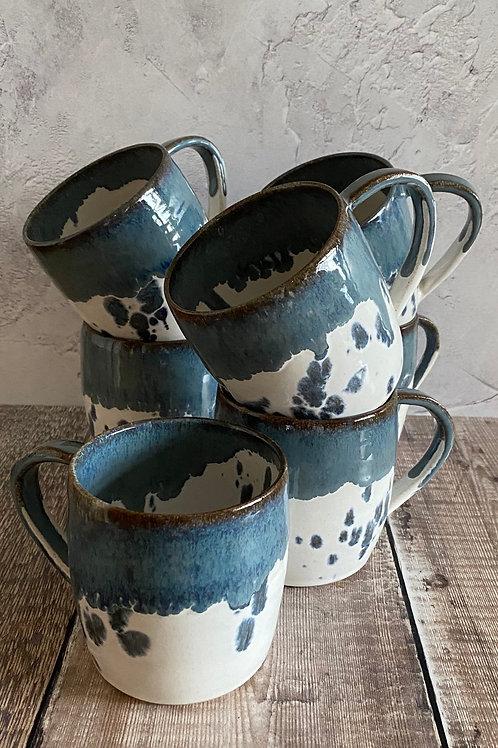 Coastal design mug