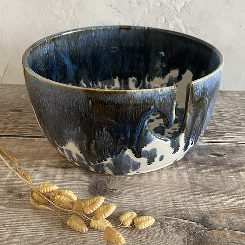 Yarn bowl - Coastal design
