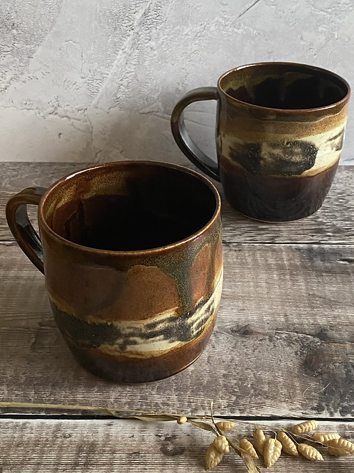 Earthen design mug