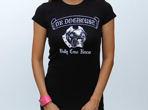 Female Black Baby Doll Tshirt