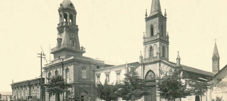 Iglesia La Merced, Bomberos y Teatro Nac