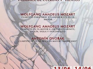 Obras de origen europeo serán parte del II Concierto de Música de Cámara de la orquesta regional