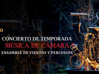Ensamble de Bronces y Percusión prepara concierto en La Serena y Andacollo