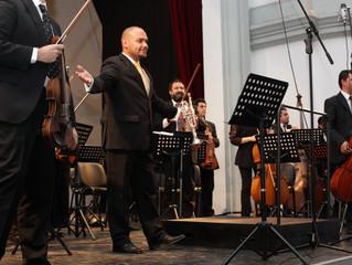 Más de mil personas disfrutaron del II Concierto de Temporada de la Orquesta Sinfónica ULS
