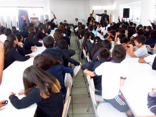 Miles de estudiantes de la región fueron parte del I Ciclo de Conciertos Educacionales