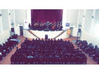 Más de 600 alumnos disfrutaron del I Ciclo de Conciertos Educacionales de la Orquesta Sinfónica ULS