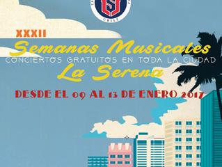 Regresan a la región los XXXII Encuentros Musicales de La Serena