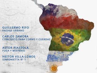 Colosal homenaje a 'Chile y Latinoamérica' marcará el séptimo concierto del conjunto profesional.
