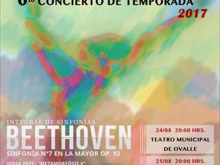 Orquesta Sinfónica Universidad de La Serena prepara dos nuevos Conciertos de Temporada junto al maes