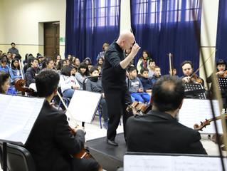 Director David Händel realiza cautivantes conciertos educacionales a estudiantes de La Serena