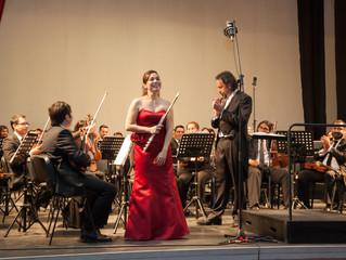 Orquesta Sinfónica Universidad de La Serena celebró los 472 años de la ciudad, ante un colmado Teatr
