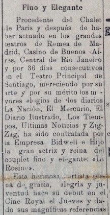 El Diario. La Serena, 22 de Junio de 192