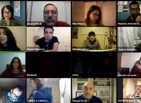 Exitoso conversatorio reúne a representantes de organizaciones y espacios culturales de la región.